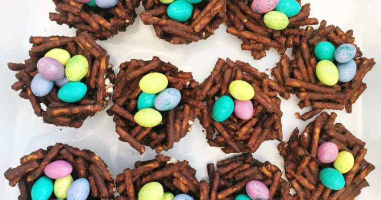 Spring Treats – Chocolate Nests